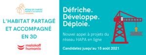 Bannière de l'appel à projets 2021